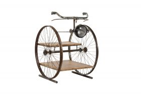 Two Wheel Vintage lamp