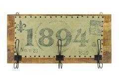1894 Vintage Wall Hanger