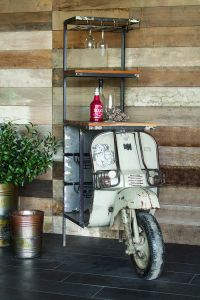 Unique Scooter Winerack