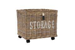 Storage Basket on wheels