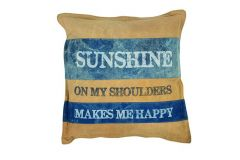 Sunshine Vintage Cushion