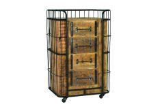 Monas Vintage Trolley with 4 drawers