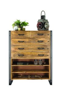 De L'Industries Vintage Chest 5 drawers