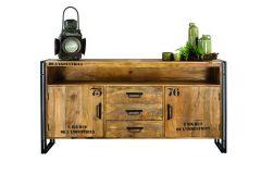 De L'Industries Vintage Dresser 2 doors, 3 drawers