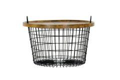 Basket Vintage coffee table Large