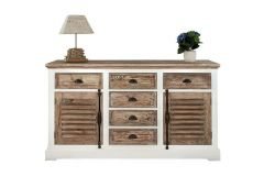 Martique dresser 2 doors, 6 drawers