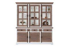 Martinique Glass cabinet 3 doors