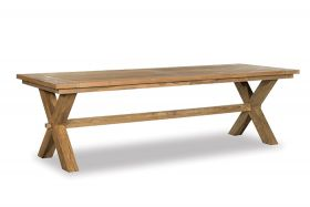 Borneo Rustic Outdoor Table 260 cm