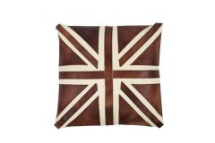 Cross Vintage Cushion in leather