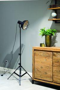 Industriele Vloerlamp 'Gridley'