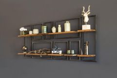 Raw wall rack oblong small